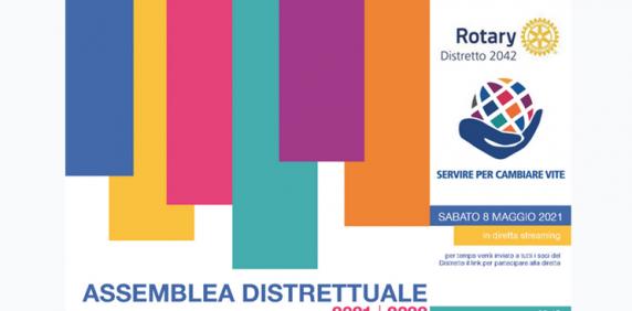 Assemblea distrettuale - Sabato 8 maggio 2021